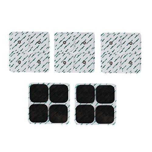 Fitop 20 Pcs Replacement Electrode Pad For Tens Ems