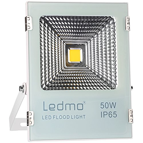 Best Garage Flood Lights: LEDMO 50W LED Flood Light Outdoor,Super Bright Waterproof