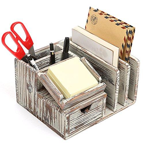 Desk Organizer - I want this.   Desk organization, Desktop ...  Desktop Mail Organizer For Kitchen