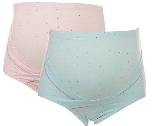 UTOVME Women High Wasit Bamboo Fiber Maternity Underwear