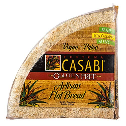 Casabi Casabe Artisan Flatbread Cassava Bread, Naturally